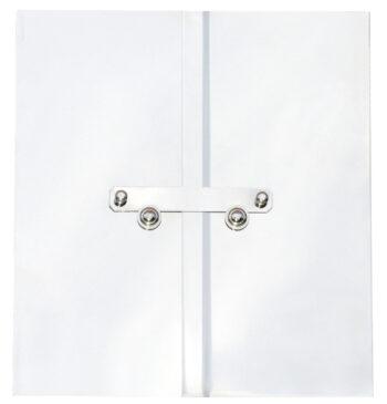 Ytterdörr nickelInkl lösa gångjärnPassar ram 316x295