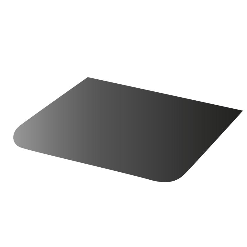 Golvplåt svart