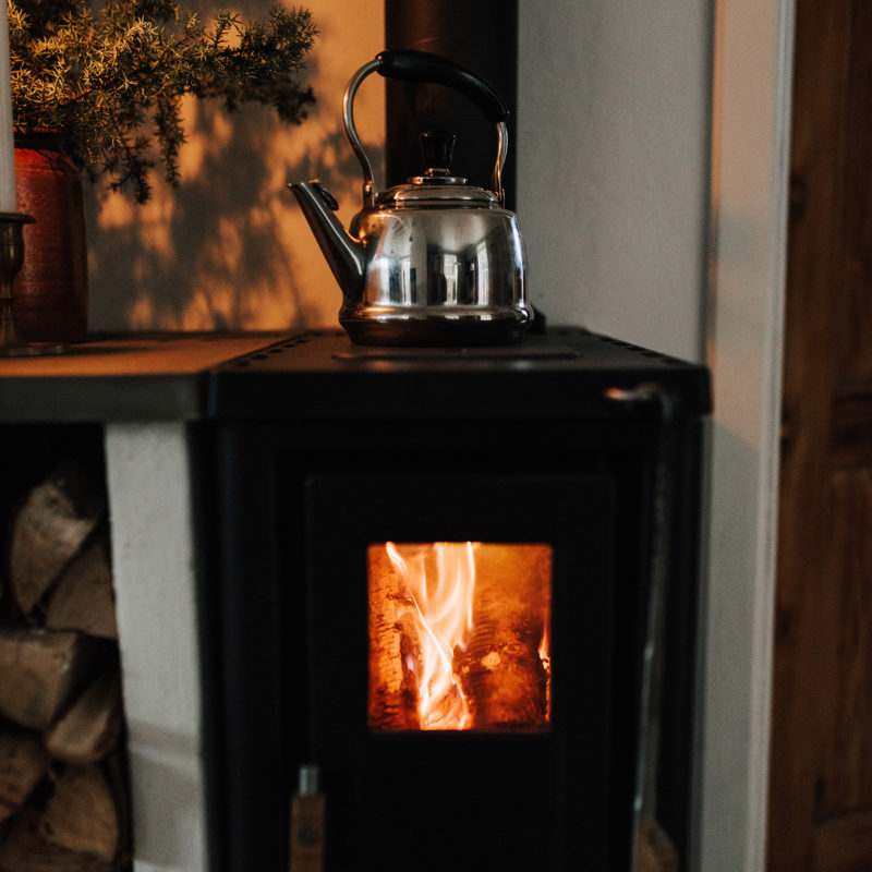 JD 320 wood stove