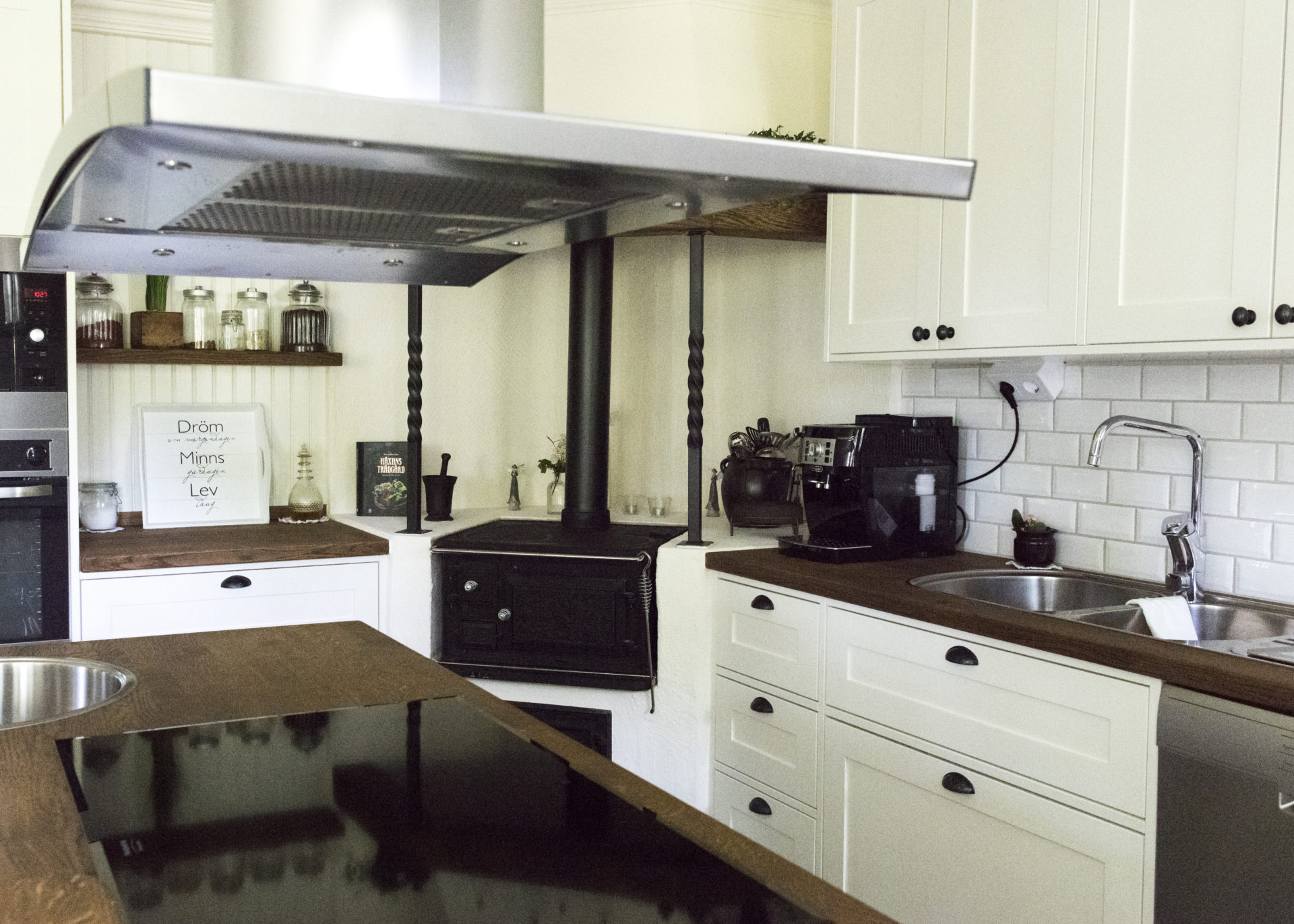 det nya köket hos jannice