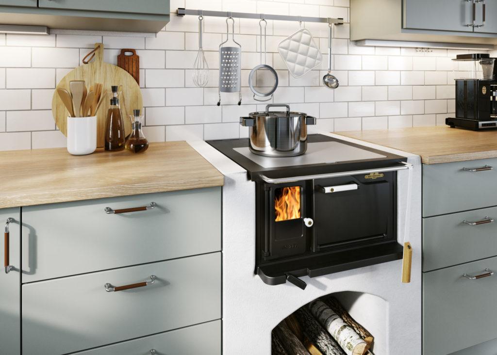 JD 27 - Vedspis i nytt kök