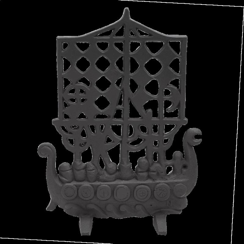 Vikingskepp i gjutjärn