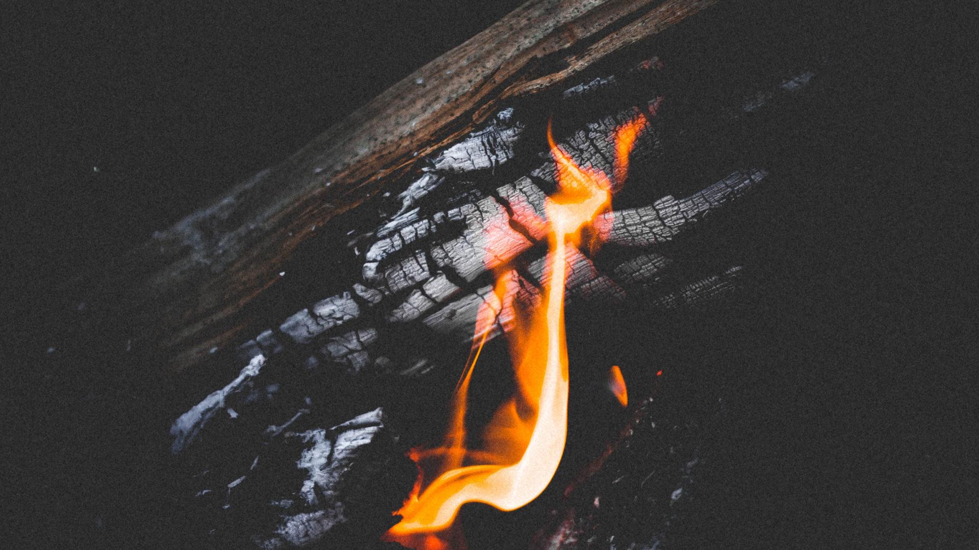 brinner så mysigt