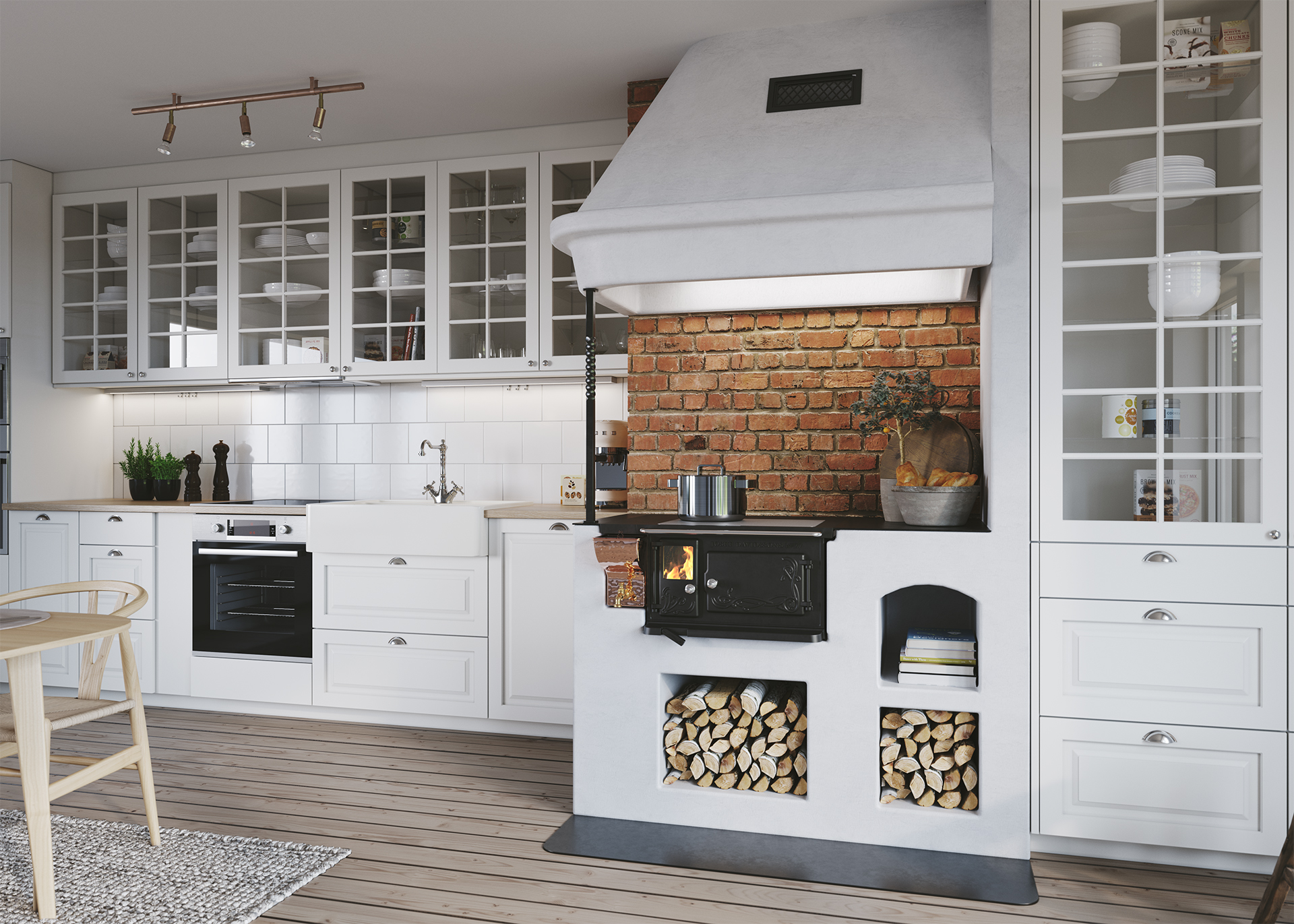 new wood-burning stoves