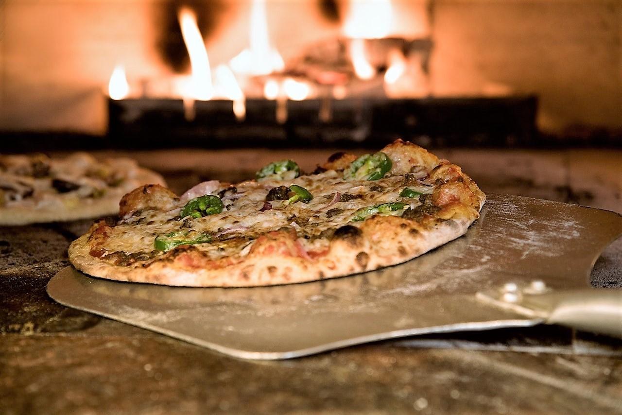 vedugnsbakad pizza