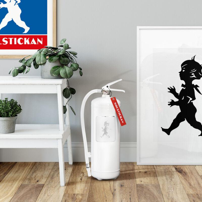 Solstickan brandsläckare vit