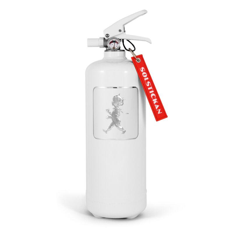 Solstickan Brandsläckare Vit/vit