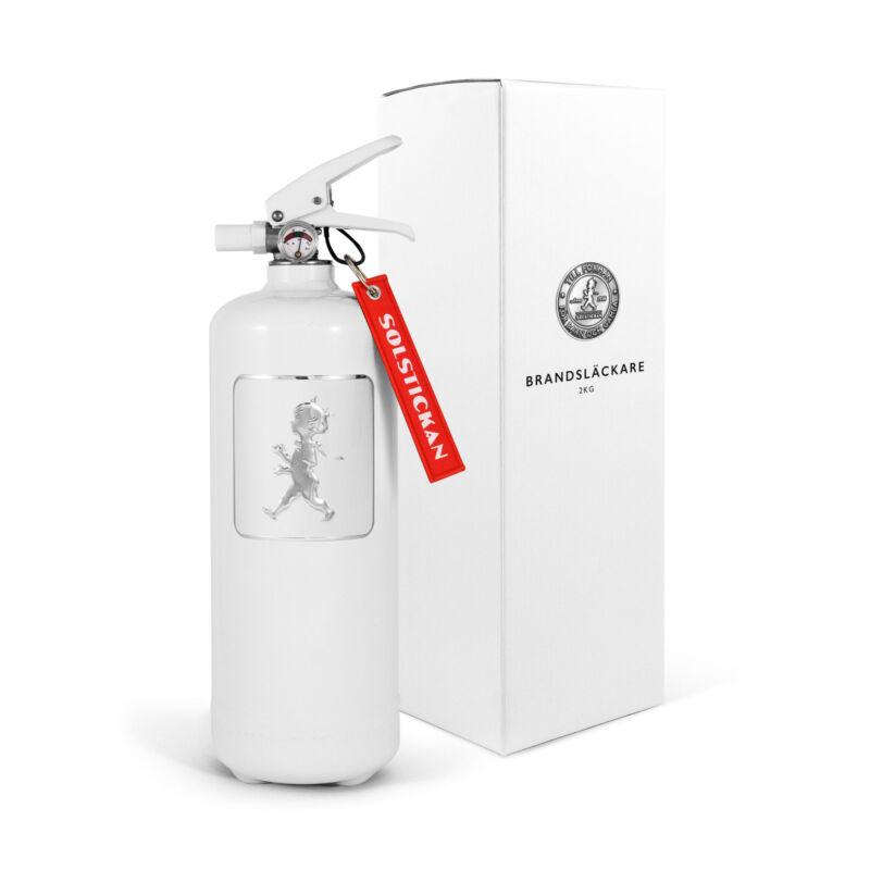 Solstickan Brandsläckare 2kg Vit/vit